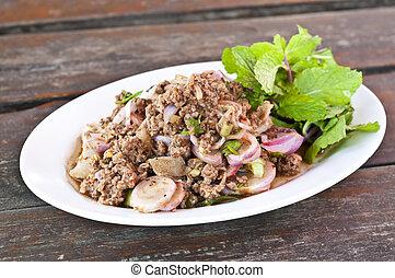 Thai cuisine.