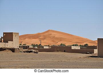 Desert vilage