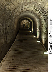 Templar Tunnel in Acco - The Templar tunnel in the old town...