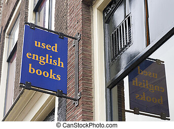 used english books - shield on book shop selling used...