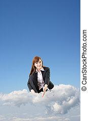 business cloud concept