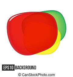 Abstract Background For Text Traffic Light Vector eps10