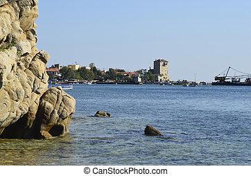 Greece, Athos peninsula, Ouranoupoli,