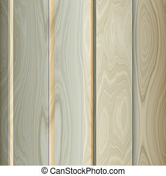 Wood panelling - Smooth varnished wooden panelling surface...