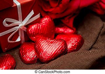 chocolate, gift box