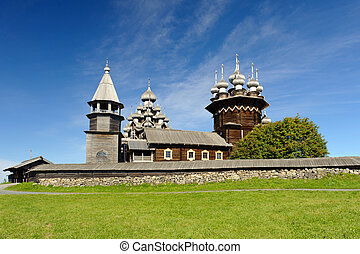 Kizhi Island - Reserve museum of wooden architecture on...