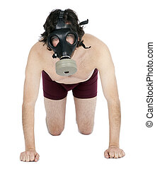 Chemical Fetish Guy - A caucasian male in his early 30s...
