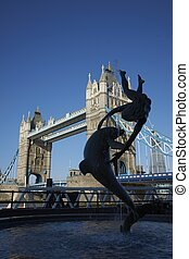 Statue by the Thames