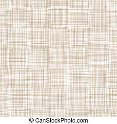 Background With Threads, Natural Linen Vector Illustration
