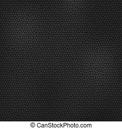 Black leather texture. Vector
