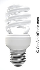 Compact fluorescent lamp - A helical-type compact...