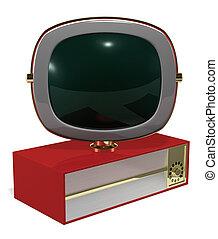 Retro Television - A Retro 50\\\'s/60\\\'s era television...