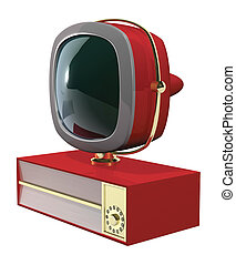 50sTV2 - A Retro 50s60s era television fashioned in the...