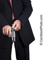 amartilleo, arma de fuego