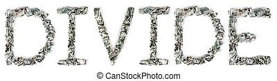 Divide - Crimped 100$ Bills