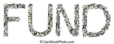 Fund - Crimped 100$ Bills