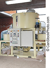 Pellets machine for bio mass and animal compound feed