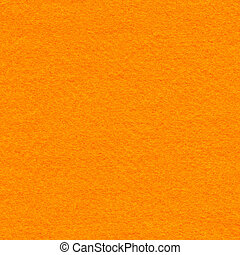 Felt Fabric Texture - Orange - High resolution close up of...