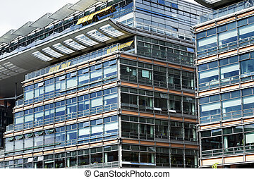 Potsdamer Platz Buildings - View at the wonderfully...