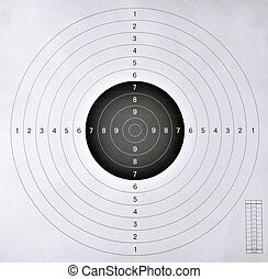 blank target for shooting competition - blank target sport...