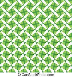 Symmetric Green Pattern
