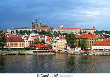 Prague city of Czech Republic