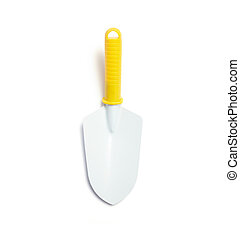 Shovel on white