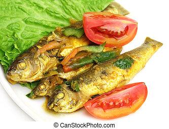 Tatkini fish curry