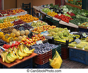 Grocery store - Local grocery store with variety of fresh...