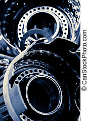 automobile gear assembly