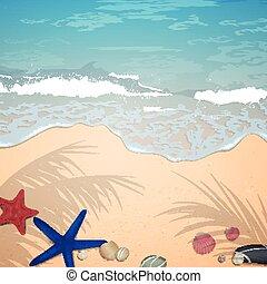 Vector Summer Beach Design
