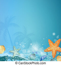Vector Underwater Background