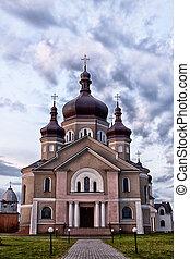 Church in the village Zapytov
