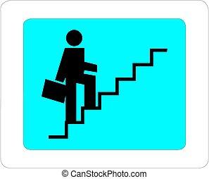 Executive Climbing Success