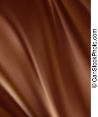 Abstract chocolate background, brown abstract satin