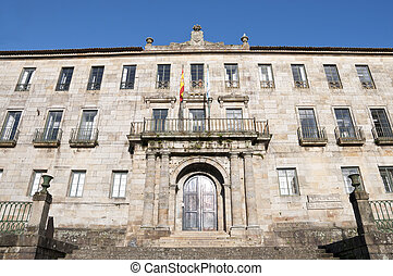 Tax Office of Pontevedra, Galicia, Spain. This building was...