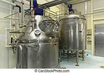 tanque, fermentación