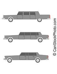 Limousine - Retro limousines set