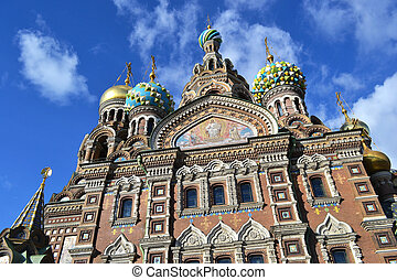 Church of the Savior on Spilled Blood, St.Petersburg, Russia