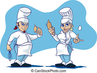 Male / Female chefs