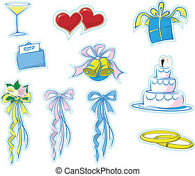 Simple Wedding Icons 1