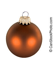orange Christmas decorations - beautiful orange seasonal...
