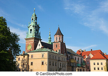 Krakow - Wawel cathedral is a Roman Catholic church located...