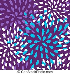 seamless flower pattern - Abstract cute seamless pattern...