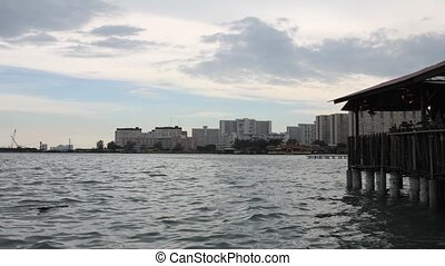 Chew Jetty Heritage Site in Penang - Historical Chew Jetty...
