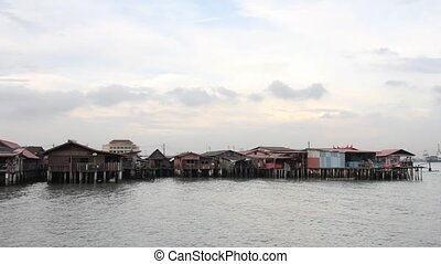 Chew Jetty Heritage Site Penang - Historical Chew Jetty...