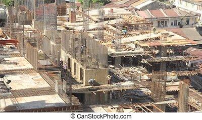 Building Construction Timelapse