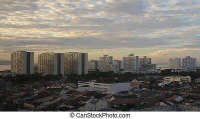 Penang Georgetown in Malaysia - Penang in Malaysia with...