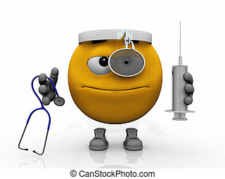 Dr.  smiley with anti virus tools