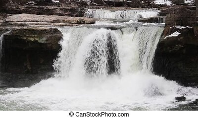 Upper Cataract Waterfall Loop - Loop features water plunging...